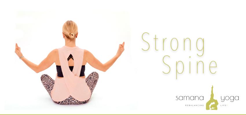 Strong Spine Yoga für den Rücken